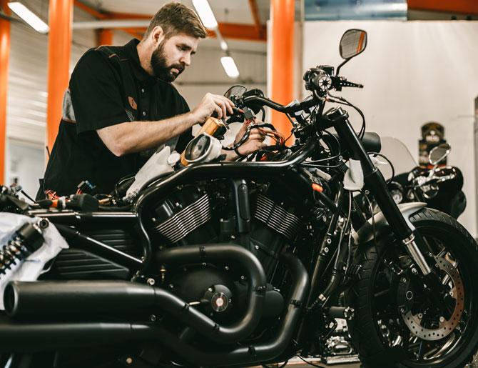 Motorrad-Wartung & Mechanik